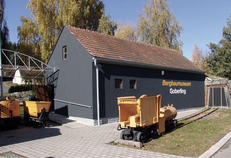 Das Bergbaumuseum in Goberling