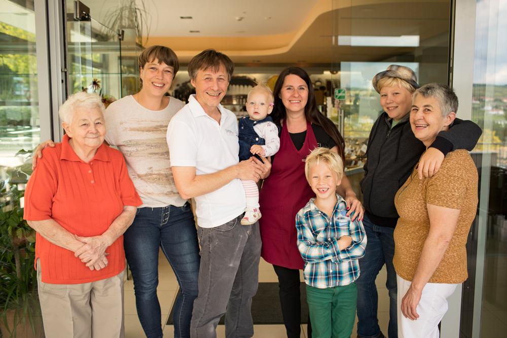 Foto der Familie Spiegel