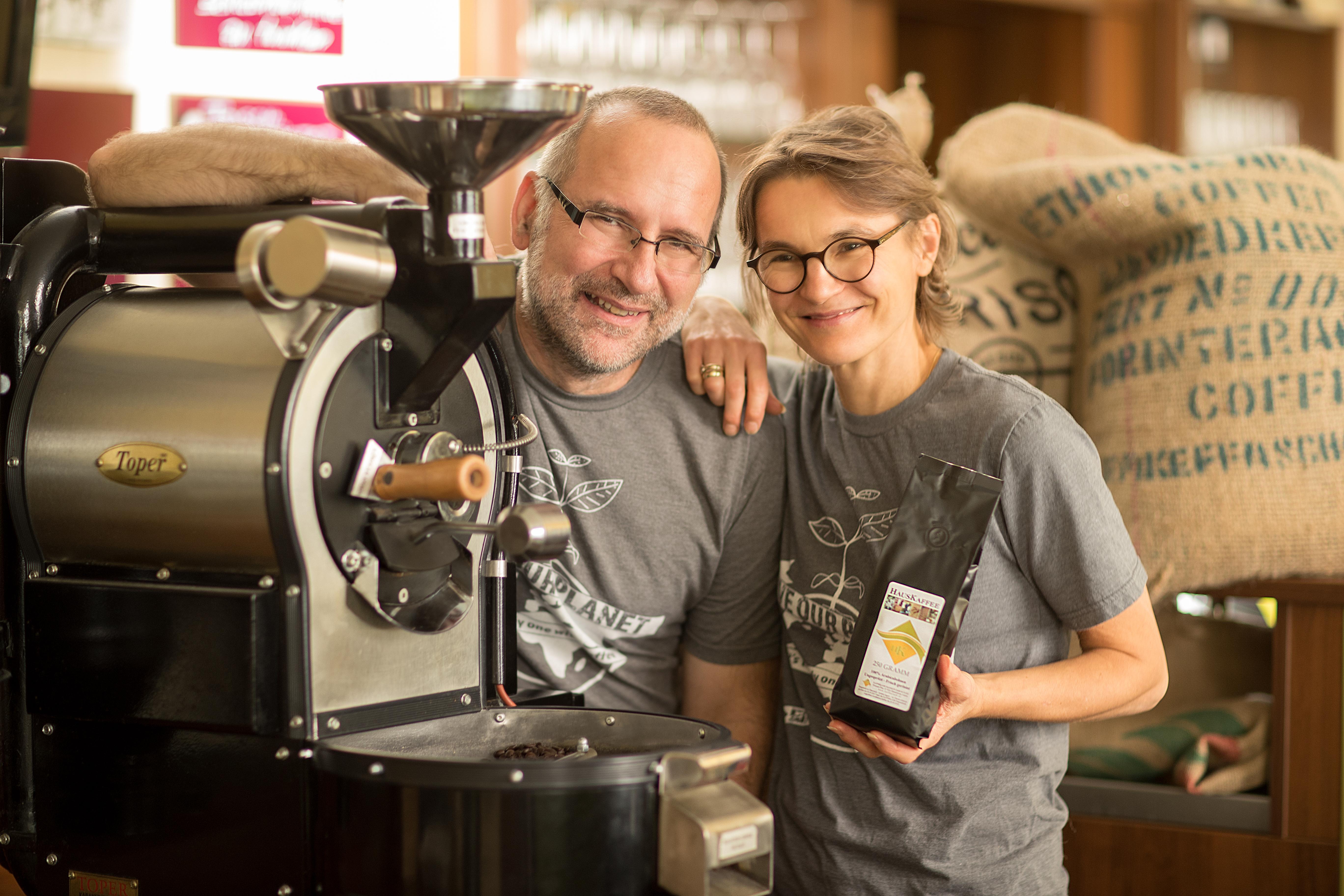 Hochwertiger Kaffee nach dem Langzeit-Schonröstverfahren